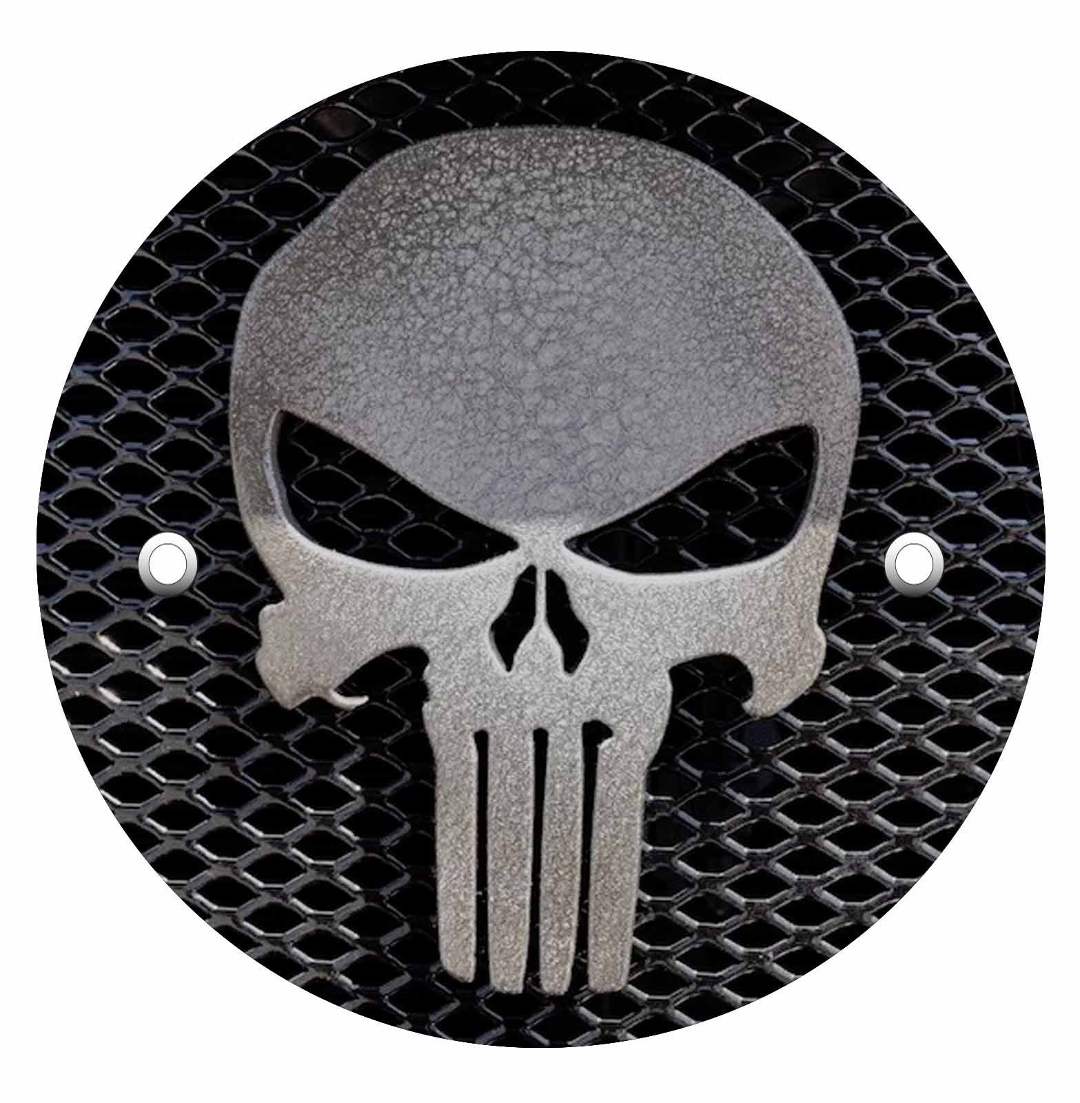 Victory Derby Cover - Punisher Blk & Wht Mesh
