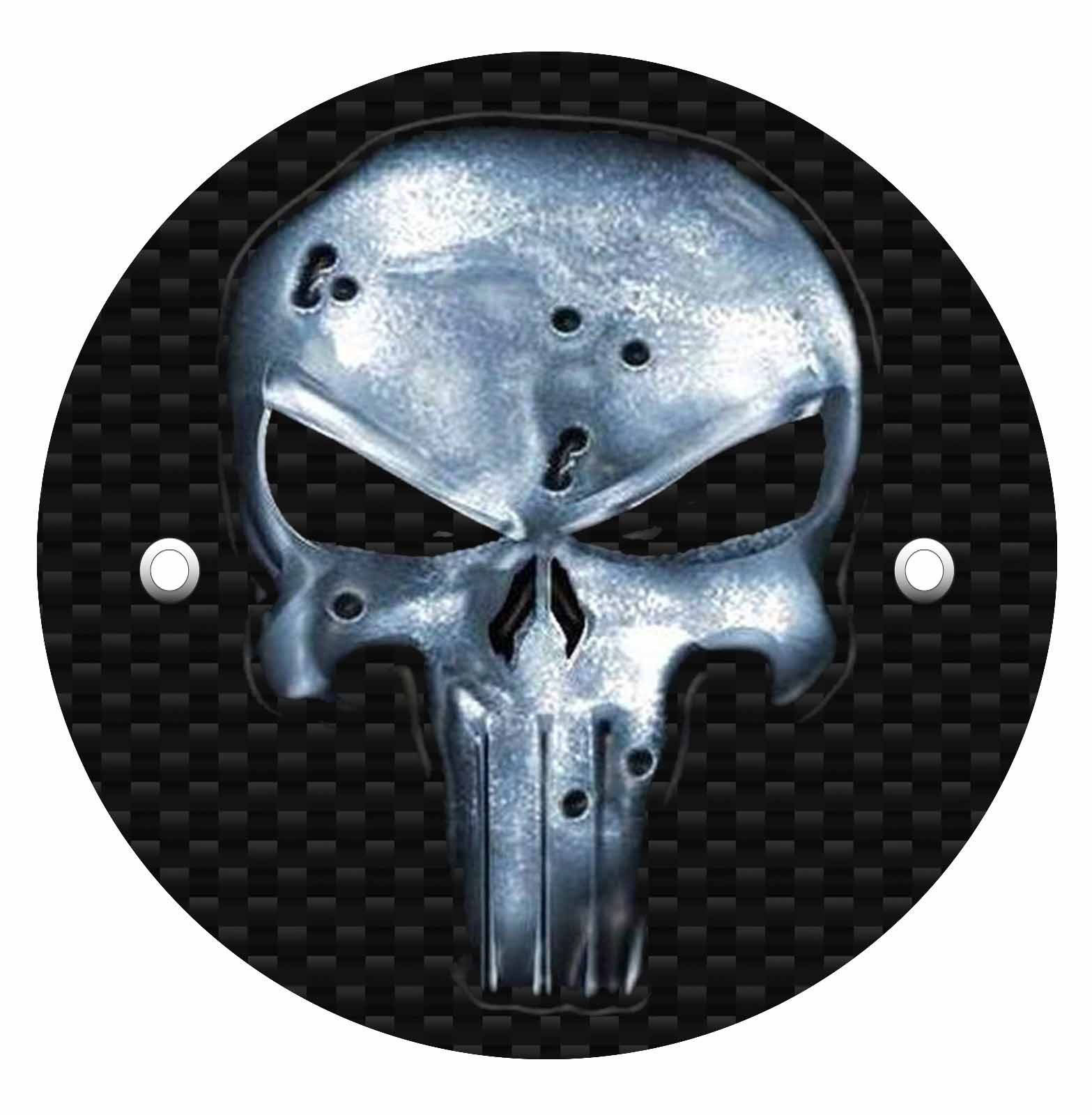 Victory Derby Cover - Metal Punisher Bullet Holes