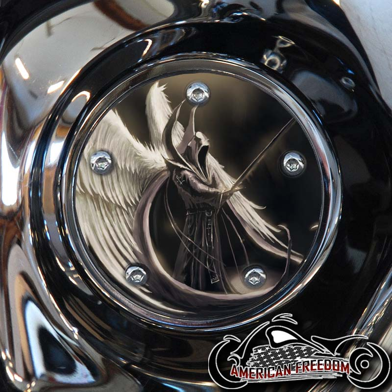 Harley Davidson Timing Cover - Angel of Death