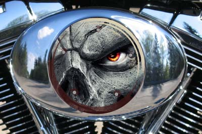 Harley Air Cleaner Cover - Eyeball