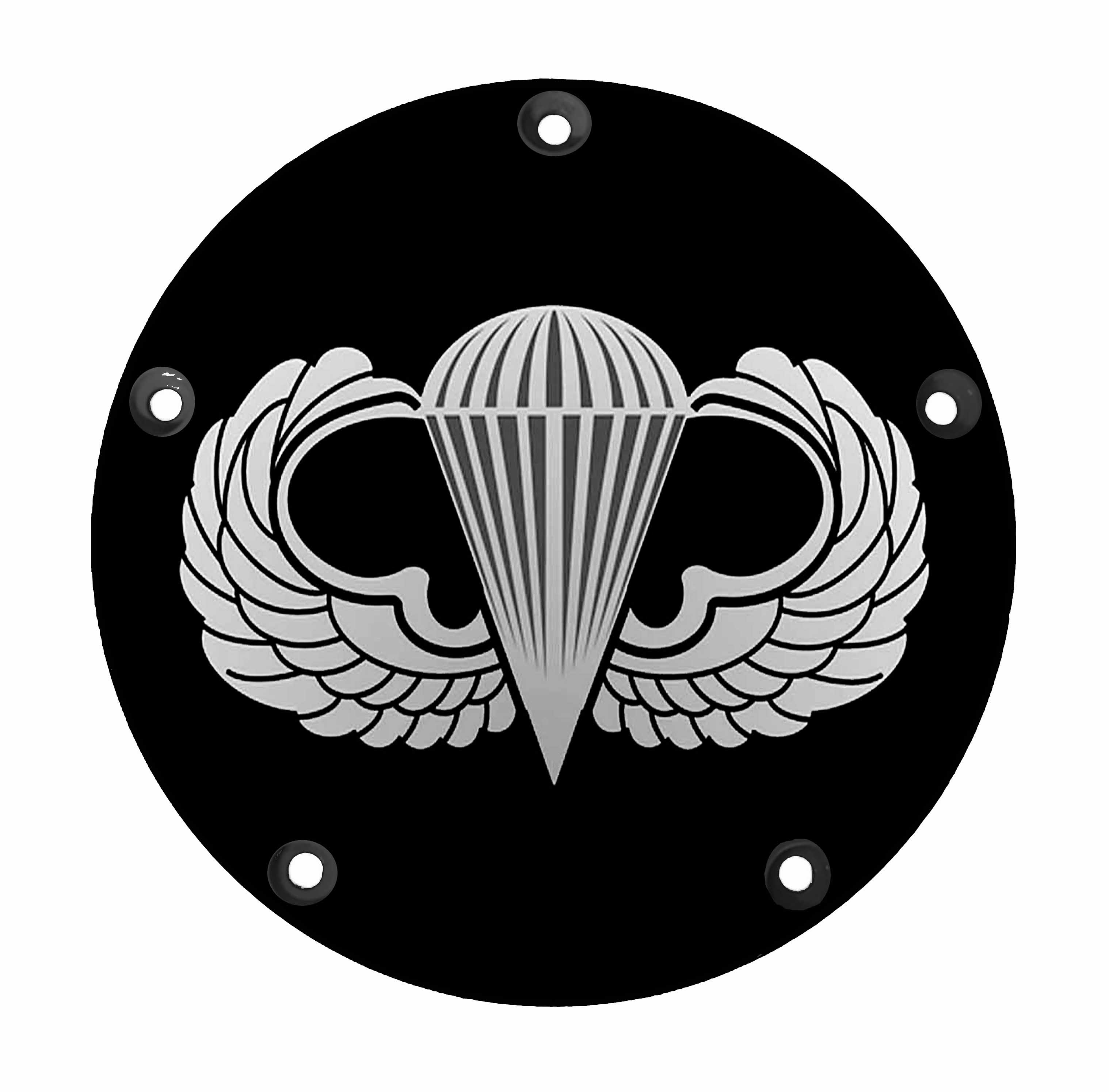 Harley Davidson Derby Cover- Jump Wings - Military