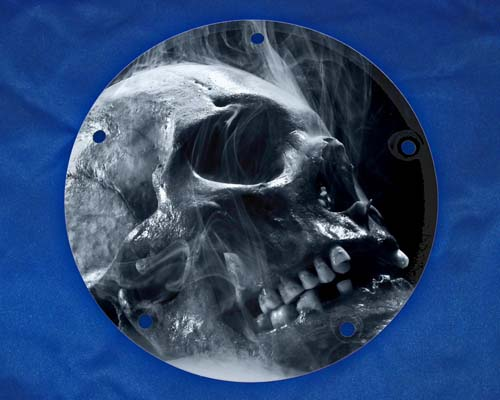 Harley Davidson Timing Cover - Scull Smoke