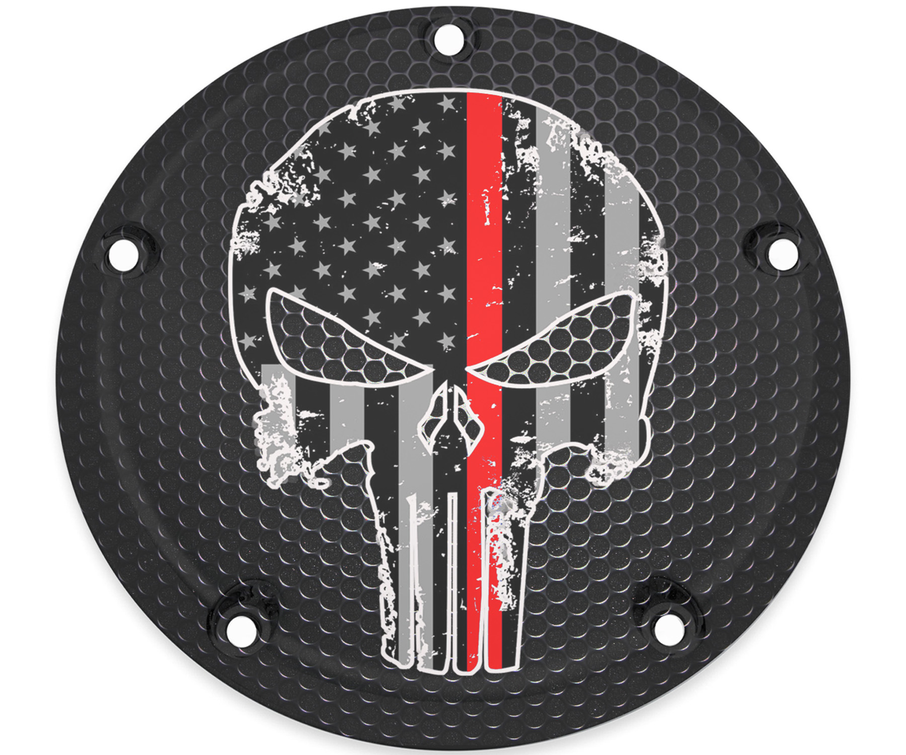 HARLEY DAVIDSON TIMING COVER RED LINE PUNISHER